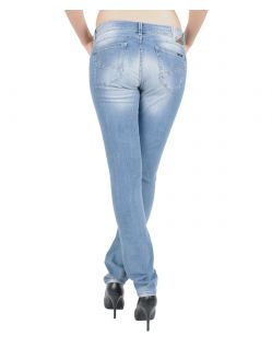 GARCIA RIVA Jeans - Slim Leg - Light Blue Vintage - Hinten
