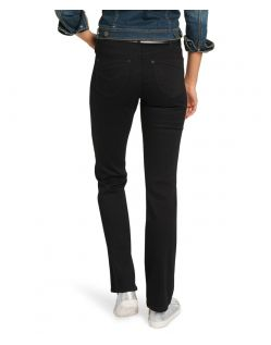 HIS COLETTA Jeans - Comfort Fit - Deep Black - Hinten