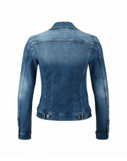 MUSTANG ICONIC - Jeansjacke - Super Stone Washed - Hinten