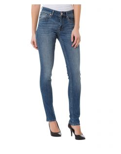 CROSS Anya - High Waisted Jeans - Dark Used Wash