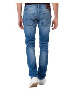 CROSS Jeans Johnny - Slim Fit - Medium Blue - Hinten