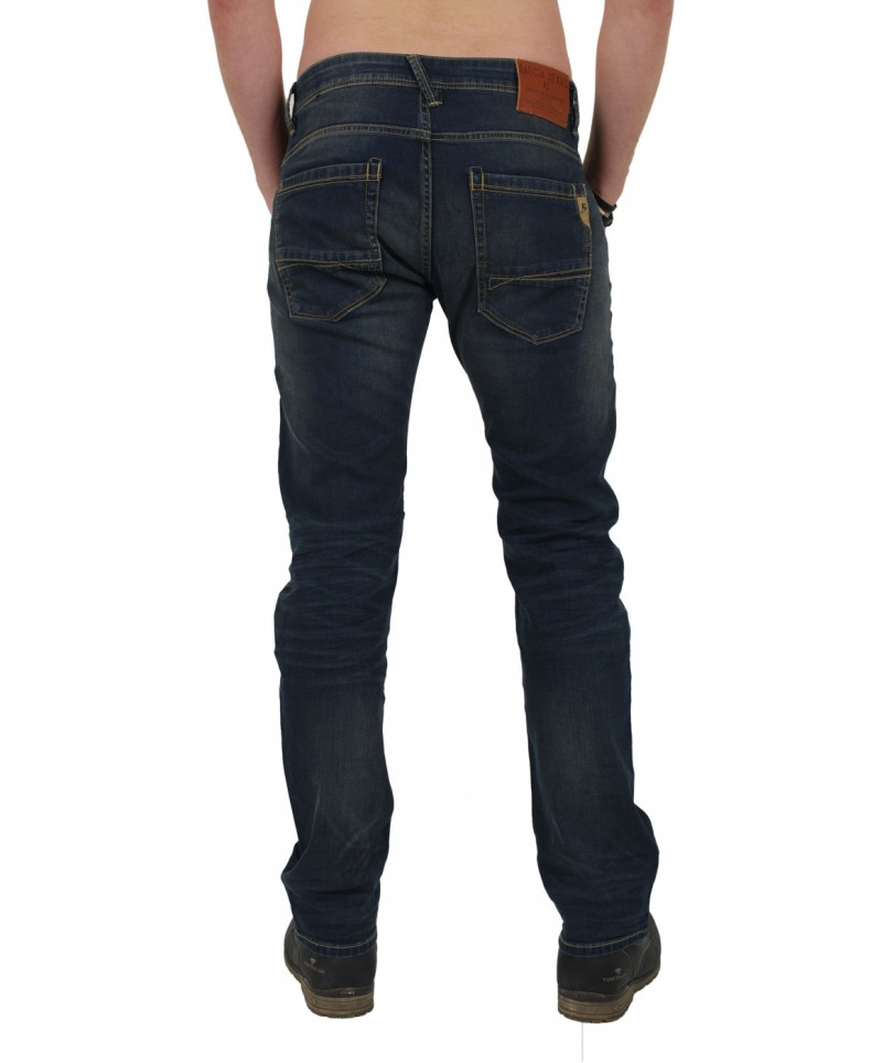 GARCIA RUSSO Jeans - Straight Leg - Used Overdye