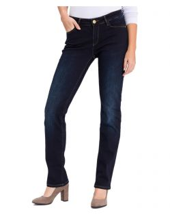 CROSS Jeans Rose - Straight Leg - Blue Black Used