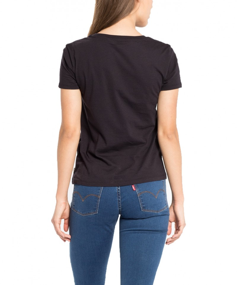 Levi's T-Shirt - The Perfect Tee - Black Graphic