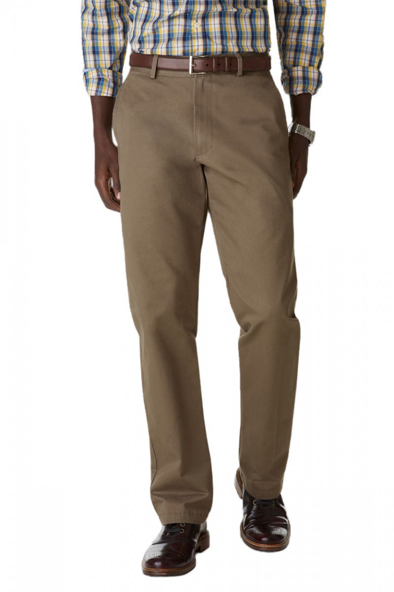 Dockers D2 Herren Khakihose - Regular Fit - Dark Pebble
