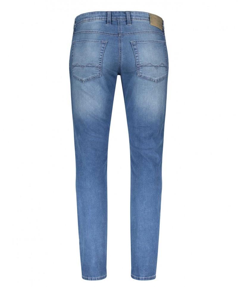 Mac Jogging Jeans - Sweat Denim - Authentic Light Grey Used
