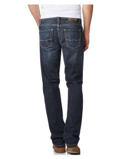 Pioneer Rando Jeans - Straight Leg -  Dark used with Buffies - Hinten