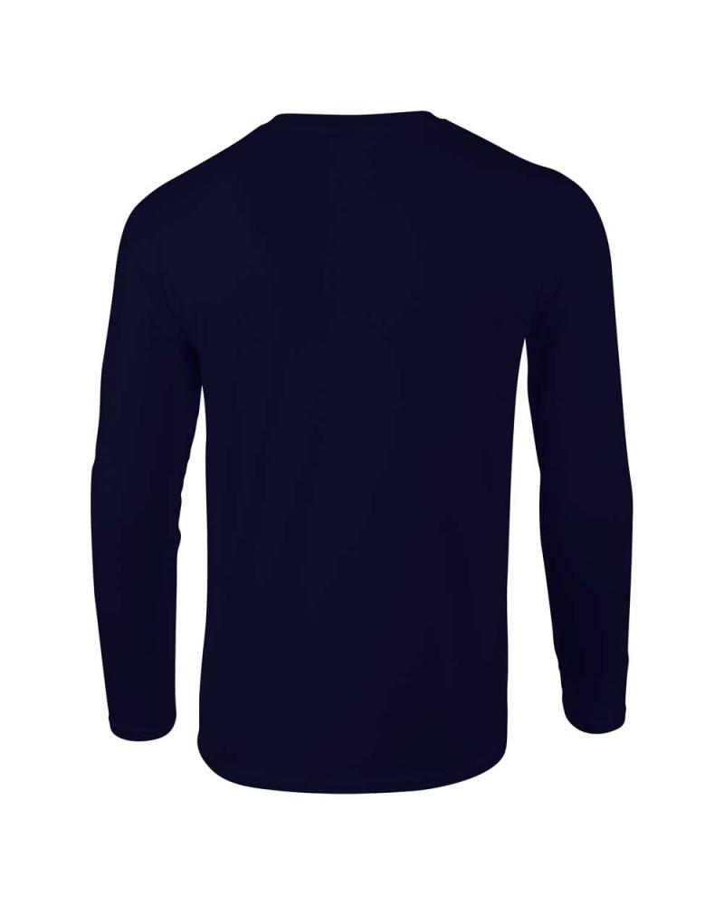 Gildan Herren Langarmshirt - Softstyle - Navy v
