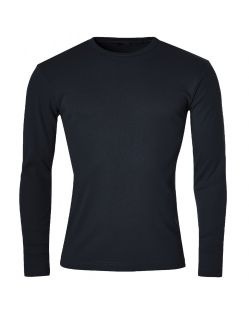 Gin Tonic Basic Longsleeve - Tight Fit - black