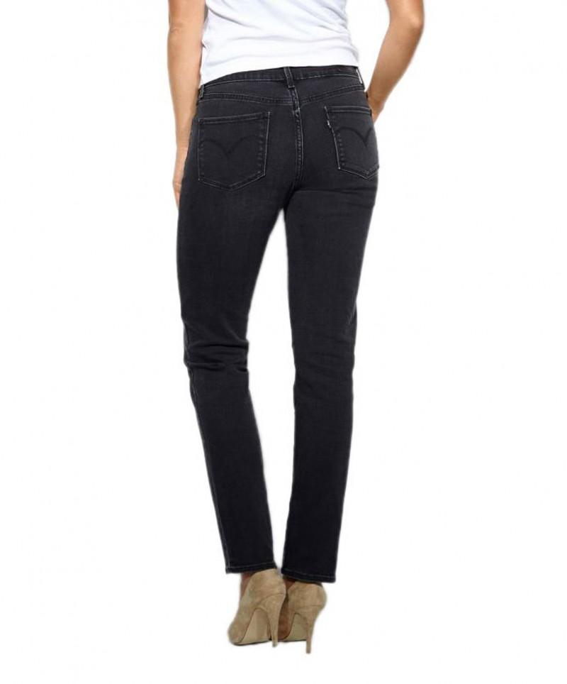 Levis Demi Curve - Slim Jeans - Worn Onyx