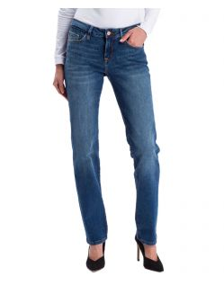 Cross Jeans Rose - Regular fit Jeans in Dark Blue Waschung