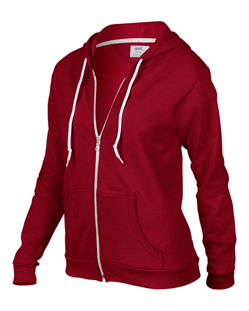 Anvil Sweatshirt - Kaputzenjacke - Independence Red