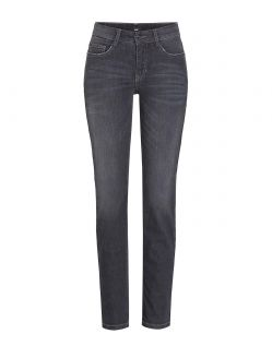 MAC ANGELA Jeans - Slim Fit - Dark Grey Used