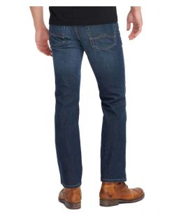 Mustang Tramper Stretch - Tapered Jeans in Azurblau - Hinten
