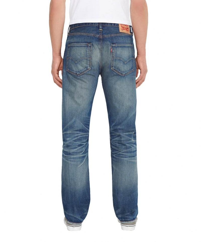 Levis 501 Jeans - Straight Leg - Stockholm v
