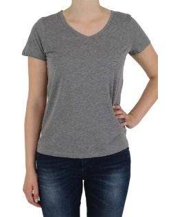 Vero Moda T-Shirt - MOLLY - Med. Grey Melange - Vorne