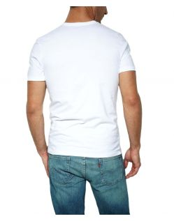 Levis T-Shirt - 2 Pack Crew Tee - Slim Fit - weiß h