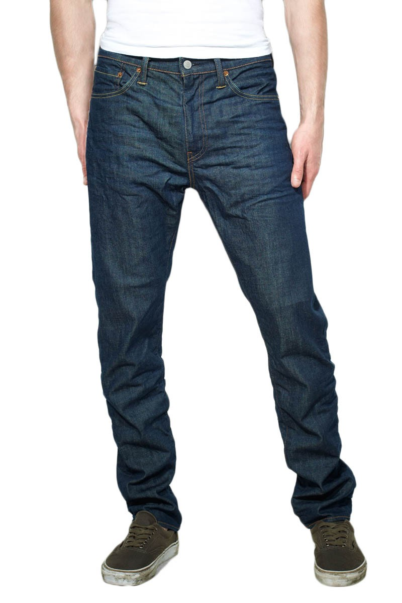 Levis 508 Jeans Regular Tapered Broken Raw