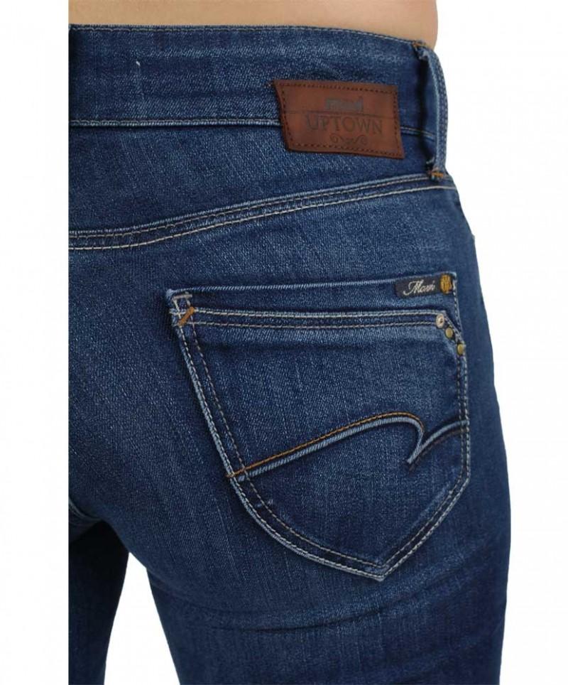 Mavi Mona Jeans - Straight Leg - Dark Uptown Soho