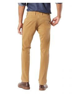 DOCKERS Alpha - Smart 360 Flex Chino - Khaki - Hinten