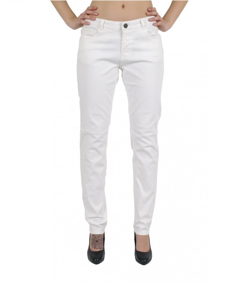 HIS MONROE Jeans - Slim Fit - Weiss