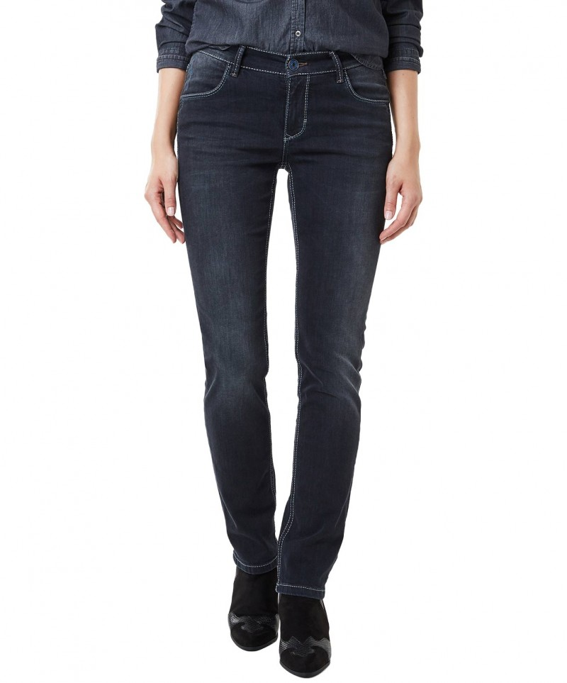 Hellblaue Jeans mit dezenter Waschung Pioneer Sally