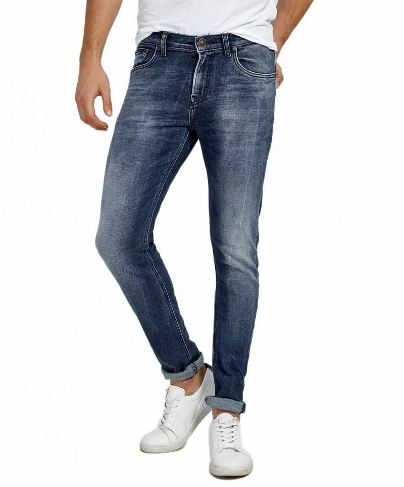 LTB SERVANDO Jeans - Tapered Leg - Licorice Black Wash