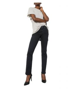 HIS COLETTA - Straight Fit Jeans - Pure Black Wash