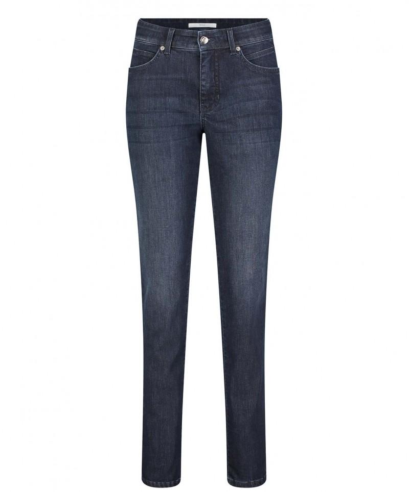 MAC MELANIE - Jeans Straight Leg - authentic blue used