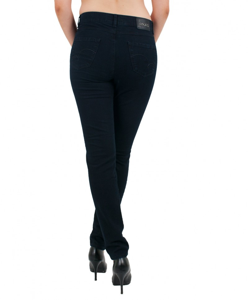 Angels Skinny Jeans - Regular Rise - Blue Blue