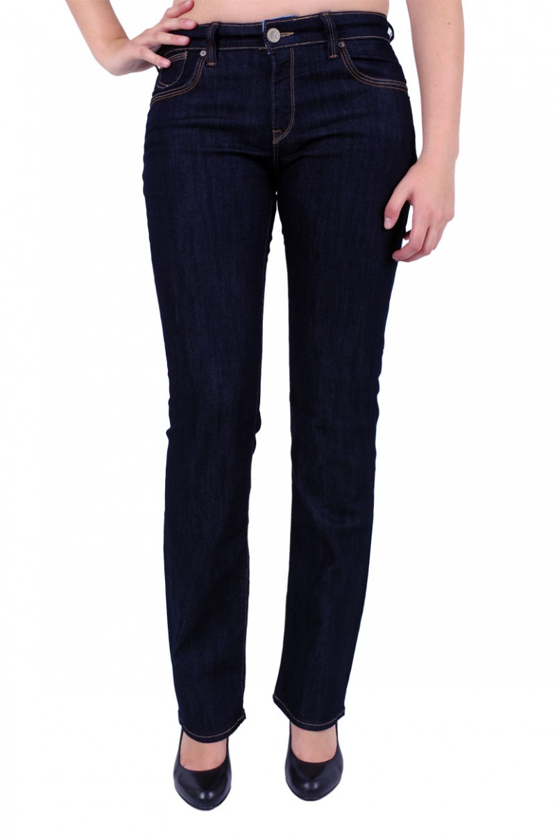 Mavi Mona Jeans - Straight Leg - Rinse Sunset Stretch