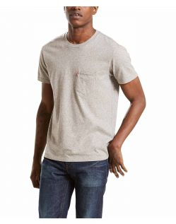 Levi's T-Shirt - Sunset Pocket - Medium Grey