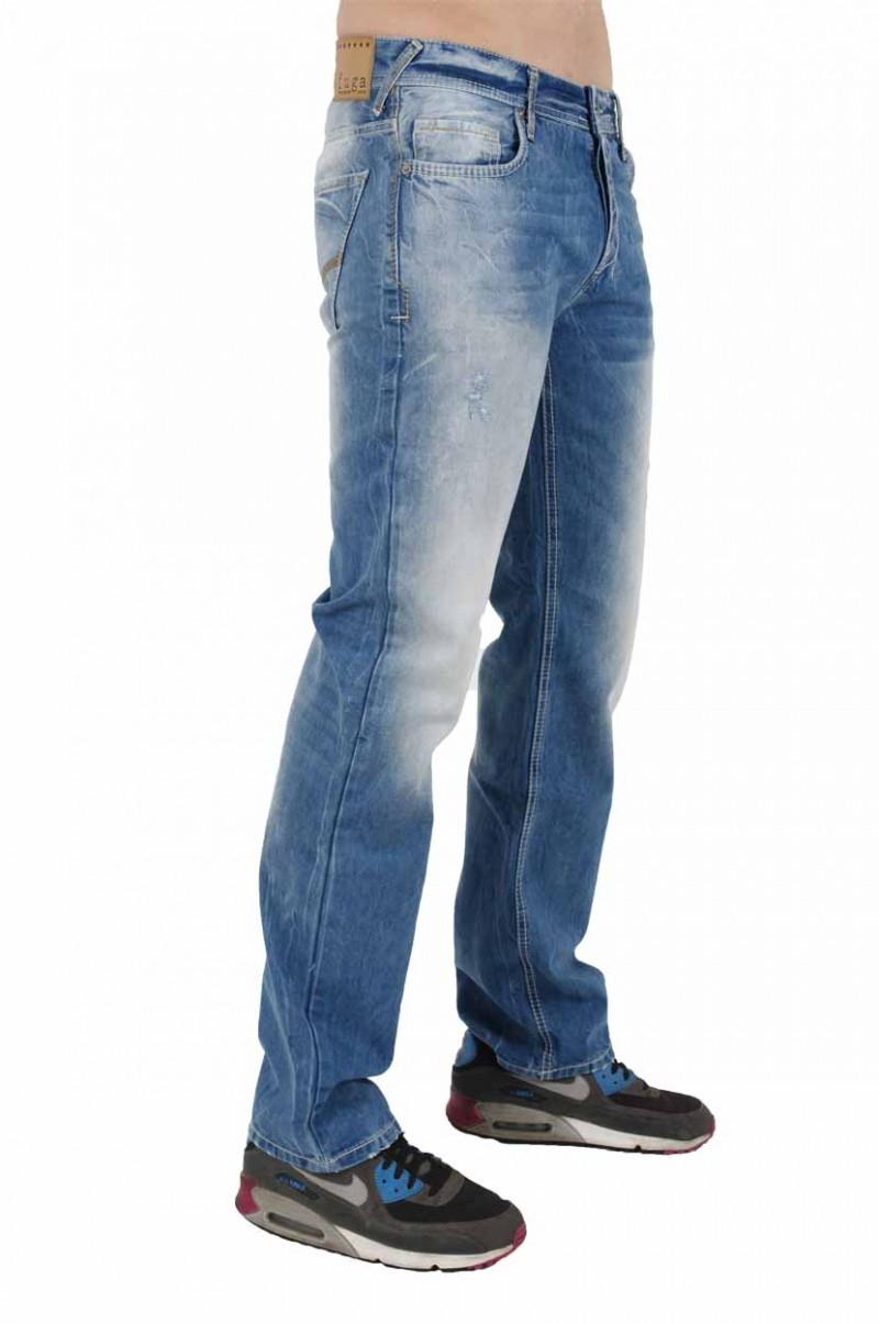 Fuga Cortez Jeans - Straight Leg - Vintage Blue