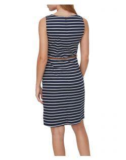 VERO MODA PEKAYA - Feminines Kleid  - Blau - Hinten
