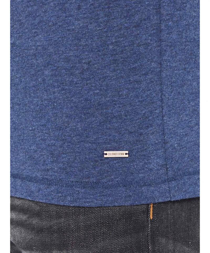 Colorado Joaquim - V-Neck T-Shirt - Mood Indigo Mel