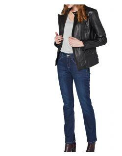 Colorado Layla - High Waist Jeans - Mid Blue Used