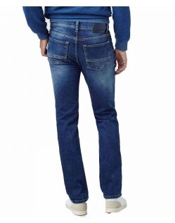 Pioneer Rando Jeans - Regular Fit - Stone Used With Buffies - Hinten