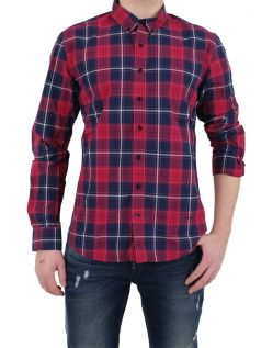 LTB Casual Hemd - Slim Fit - Rot