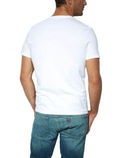 Levis Doppelpack V-Neck T-Shirts Levis weiß/weiß h