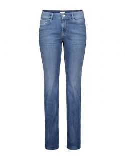 MAC ANGELA Jeans - Slim Fit - Authentic Mid Blue Used