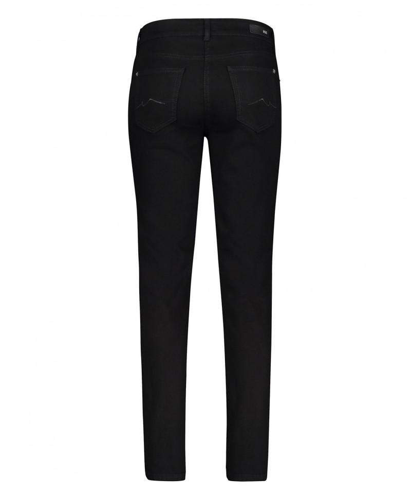 MAC Melanie Jeans Straight Leg Black Black