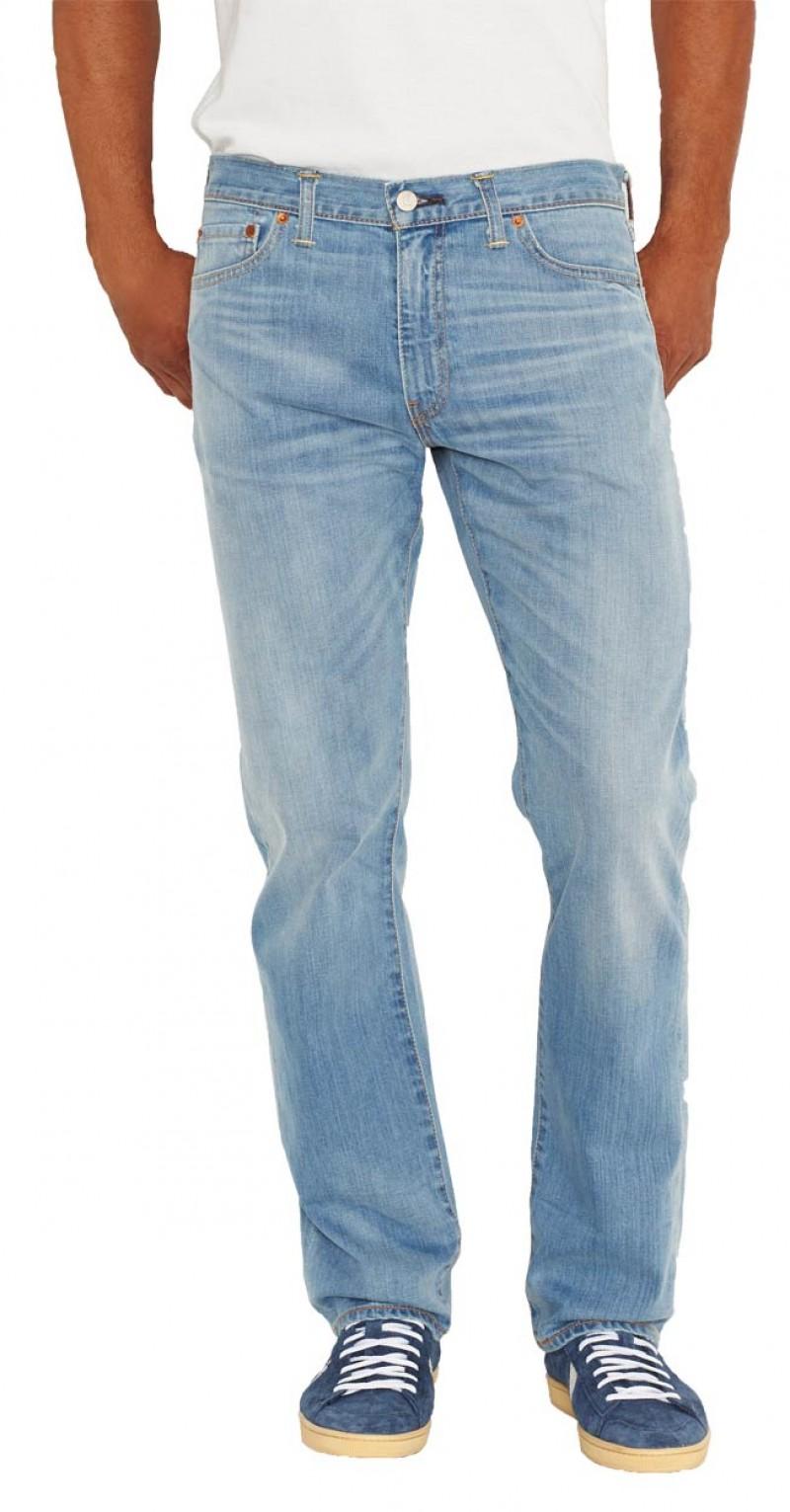 Levis 504 Jeans - Straight Leg - Aber v