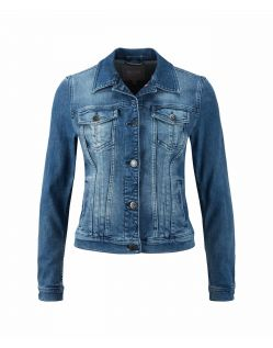 MUSTANG ICONIC - Jeansjacke - Super Stone Washed