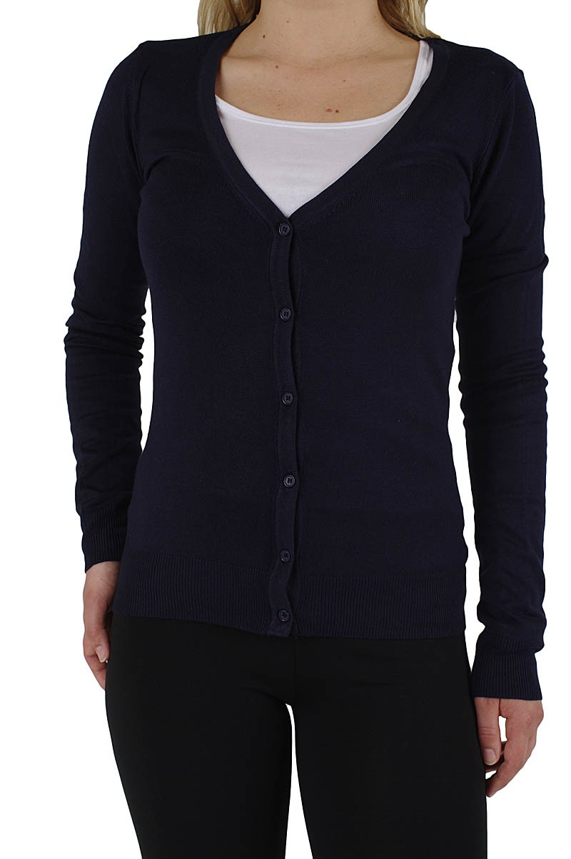 Vero Moda Glory v-neck cardigan Dark Navy