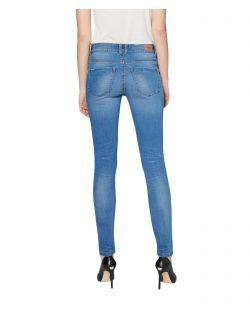 Colorado Denim Lana - Skinny Jeans in hellblau mit Crinkle Optik - Hinten