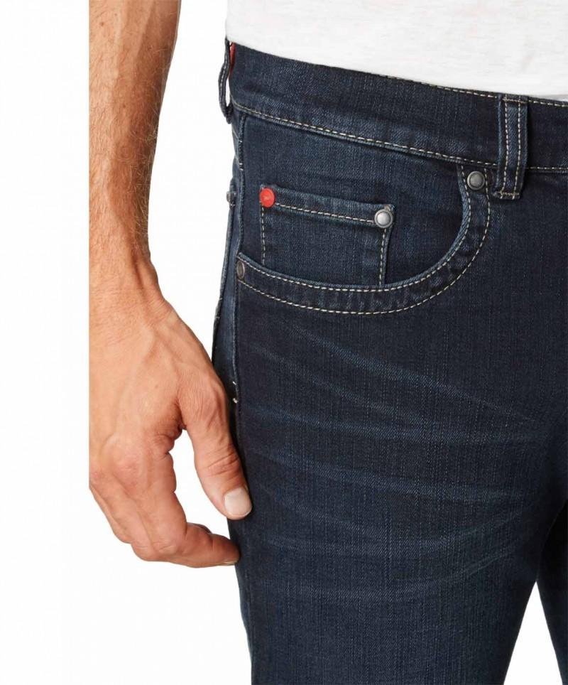 Paddocks Carter Jeans - Blue Black Used Moustache v