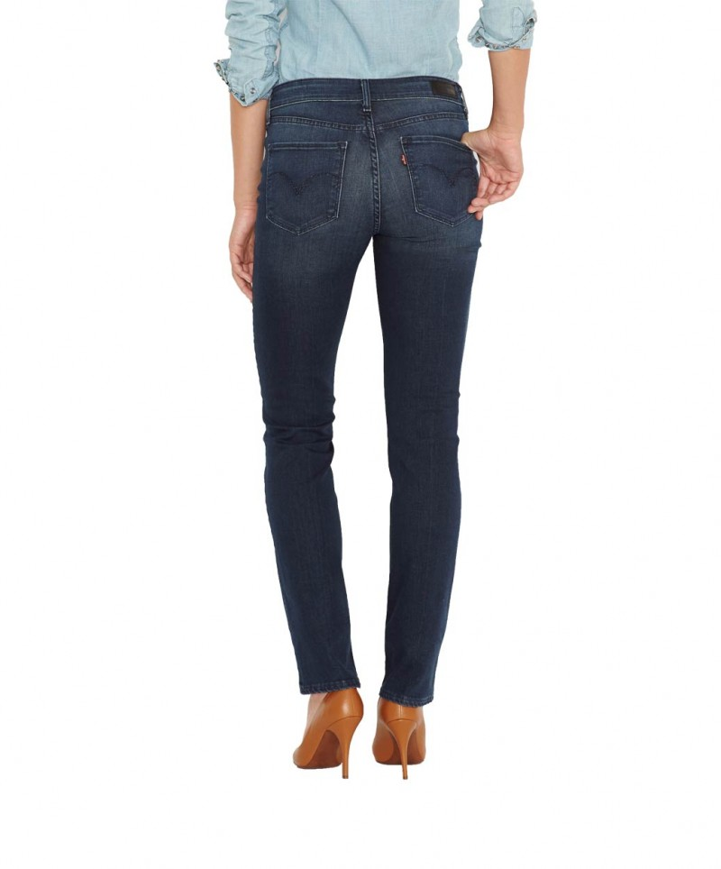 Levis Demi Curve - Slim Leg - Muted Brush