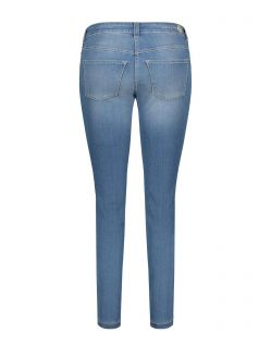 MAC DREAM SKINNY - Slim Fit Jeans - Light Blue Used - Hinten