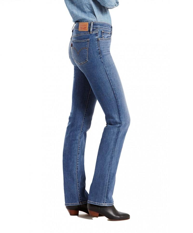 LEVI'S 714 Straight - Slim Fit - Blue Vista