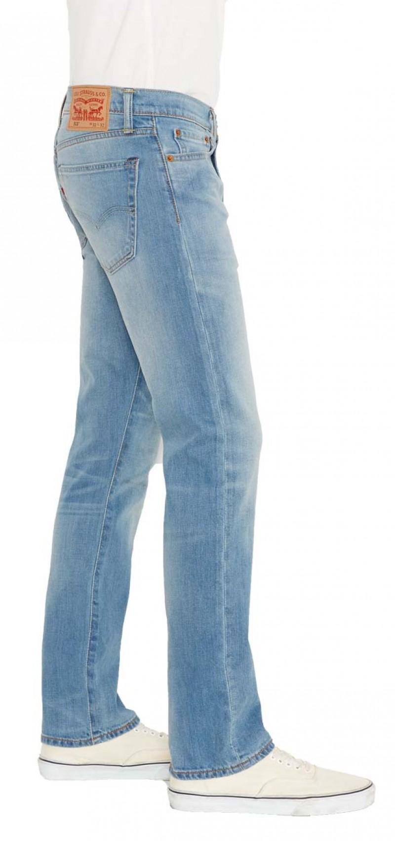 Levis 513 Jeans - Slim Straight - Aber